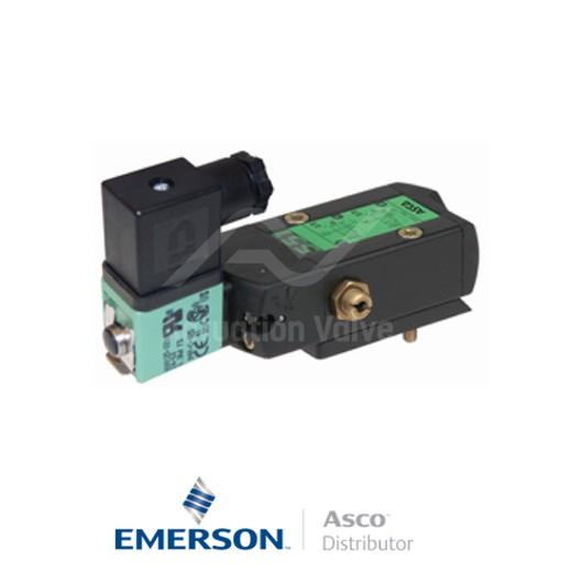 "0.25"" BSPP SCXG551A002MS Asco Numatics Process Automation Solenoid Valves Pilot Operated 230 VAC Light Alloy"