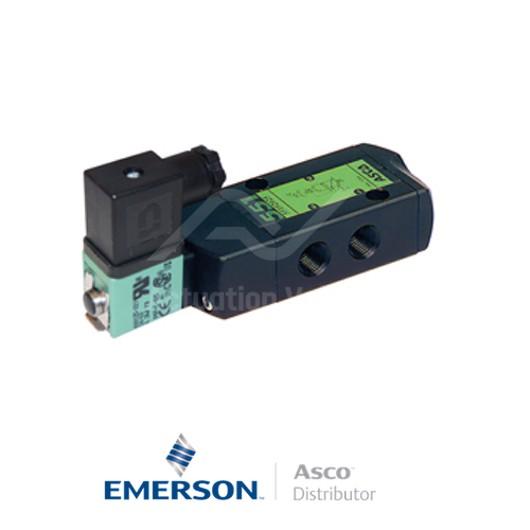 "0.25"" BSPP SCG551A065MS Asco Numatics Process Automation Solenoid Valves Pilot Operated 24 VDC Brass"