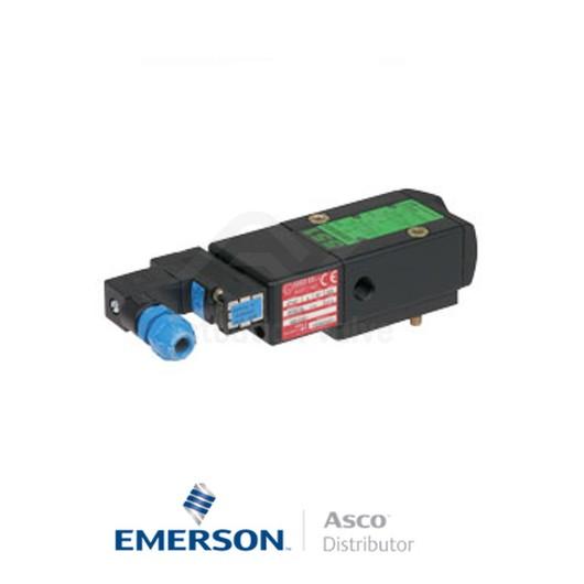 "0.25"" BSPP CFSCISG551C501MO Asco Process Automation Solenoid Valves Pilot Operated 24 VDC Light Alloy"