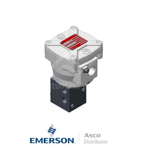 "0.25"" NPT NF8327B023 Asco General Service Solenoid Valves Direct Acting 24 VDC Engineered Plastics"