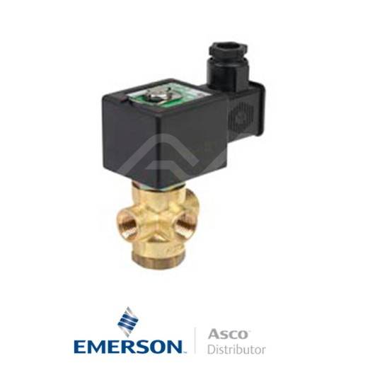 "0.25"" NPT SCXB320B174 Asco Numatics General Service Solenoid Valves Direct Acting 115 VAC Light Alloy"