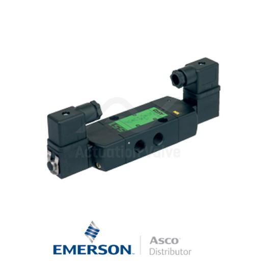 "0.25"" BSPP SCG551A018MS Asco Process Automation Solenoid Valves Pilot Operated 230 VAC Engineered Plastics"