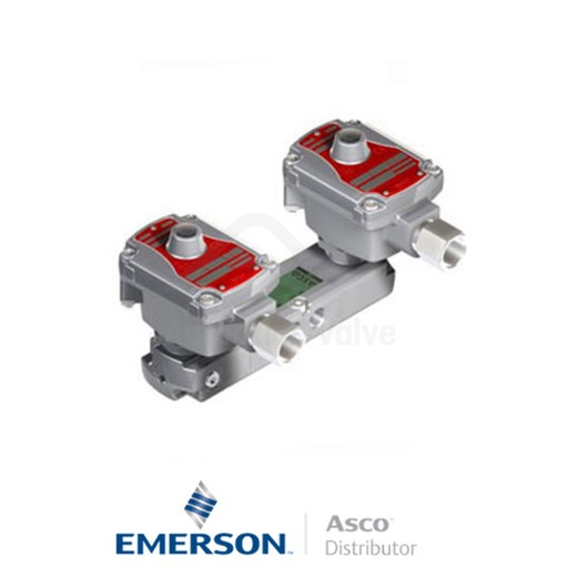 """0.25"""" BSPP WSLPKFG551A322MO Asco Process Automation Solenoid Valves Pilot Operated 24 VDC Brass"""