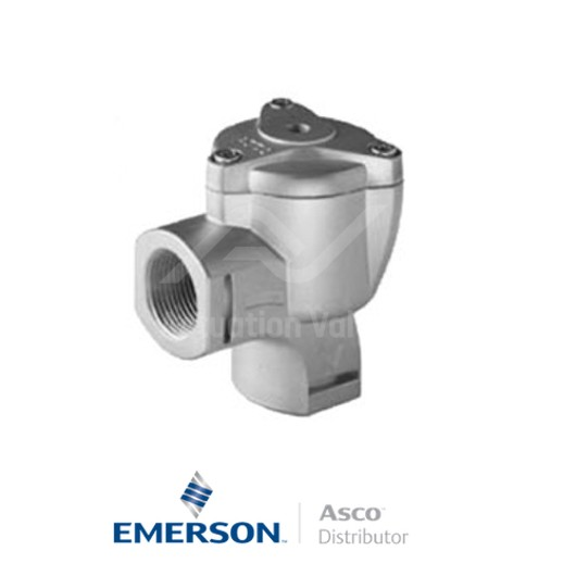 E353A820 Asco Dust Collector Solenoid Valves Pilot Operated Light Alloy