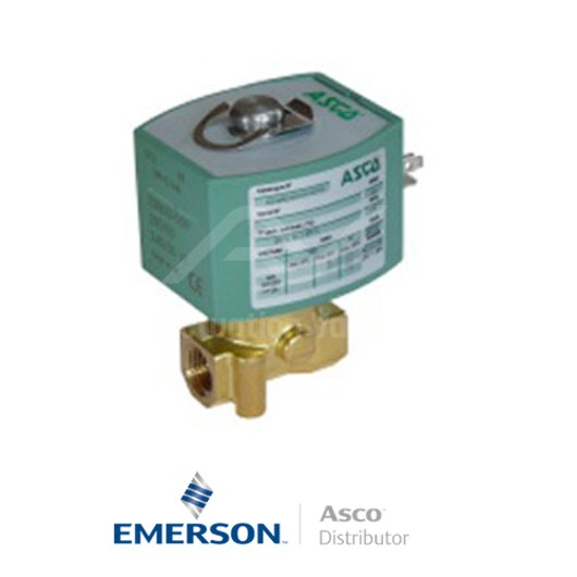 """0.25"""" BSPP E263K300S0TH0HR Asco Numatics General Service Solenoid Valves Direct Acting 48 VAC Stainless Steel"""