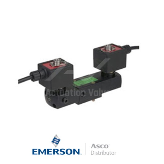 "0.25"" NPT PVX8551A002 Asco Numatics Process Automation Solenoid Valves Pilot Operated 25 AC Light Alloy"