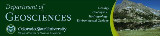 Colorado State University Geosciences Department