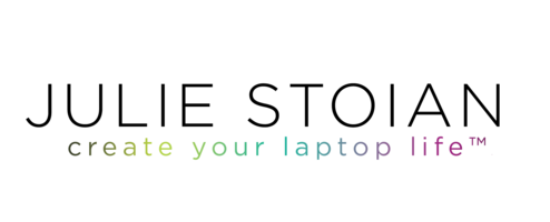 Julie Stoian + Create Your Laptop Life