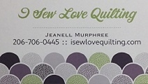 I Sew Love Quilting