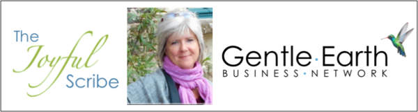 Carolin Rathbun, The Joyful Scribe & The Gentle Earth Business Network
