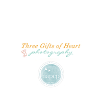 Three Gifts of Heart Photography