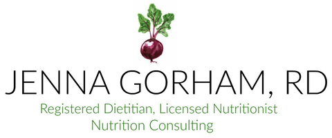 Jenna Gorham Nutrition Consulting