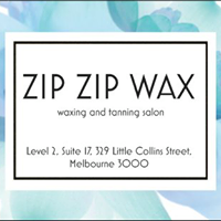 ZIPZIP WAX - Melbourne Waxing                    and Spray Tan salon