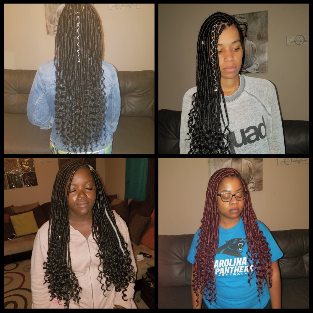 Schedule Appointment With Charlotte Faux Locs