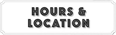 Shop Hours & Location