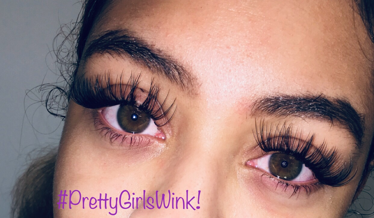 Schedule Appointment With Wink Lash Extensions By B