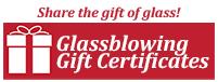 Buy a Glassblowing Class Gift Certificate