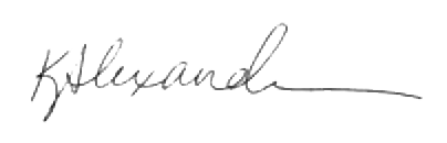 Kate Alexander Signature - president 2020 (002) transparent
