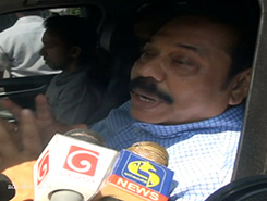 Listening in on Minister&#39s communication is wrong - Mahinda (English)
