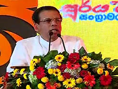 President remembers anniversary of day he left former govt (English)