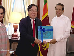 President meets Vice Chairman of the ADB (English)