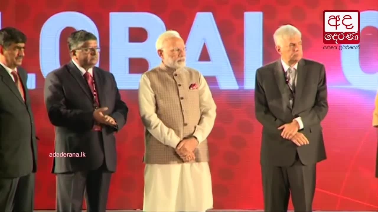 Modi meets visiting PM Ranil Wickremesinghe