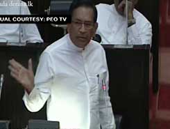 Parliament debate on political situation in the country (English)
