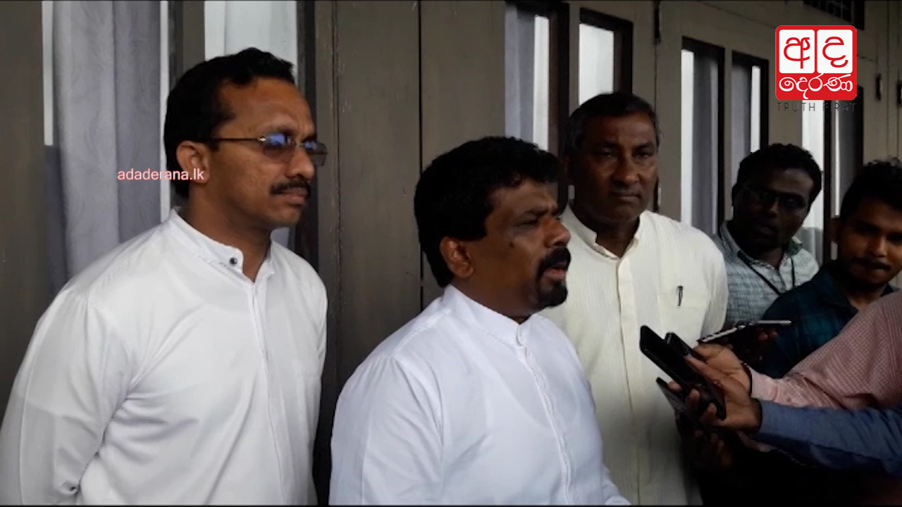Anura requests President to fulfill his promise of demolishing executive Presidency
