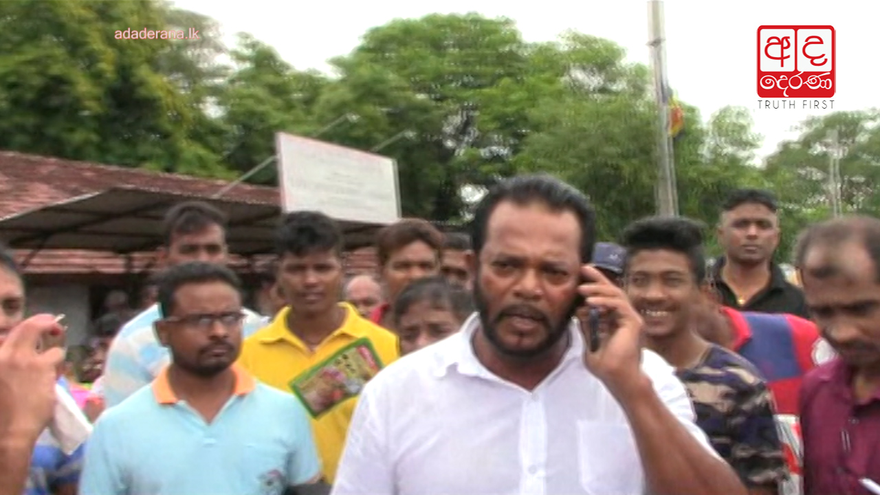 Disaster rehearsal at Galewela Hospital halted by Palitha Thewarapperuma