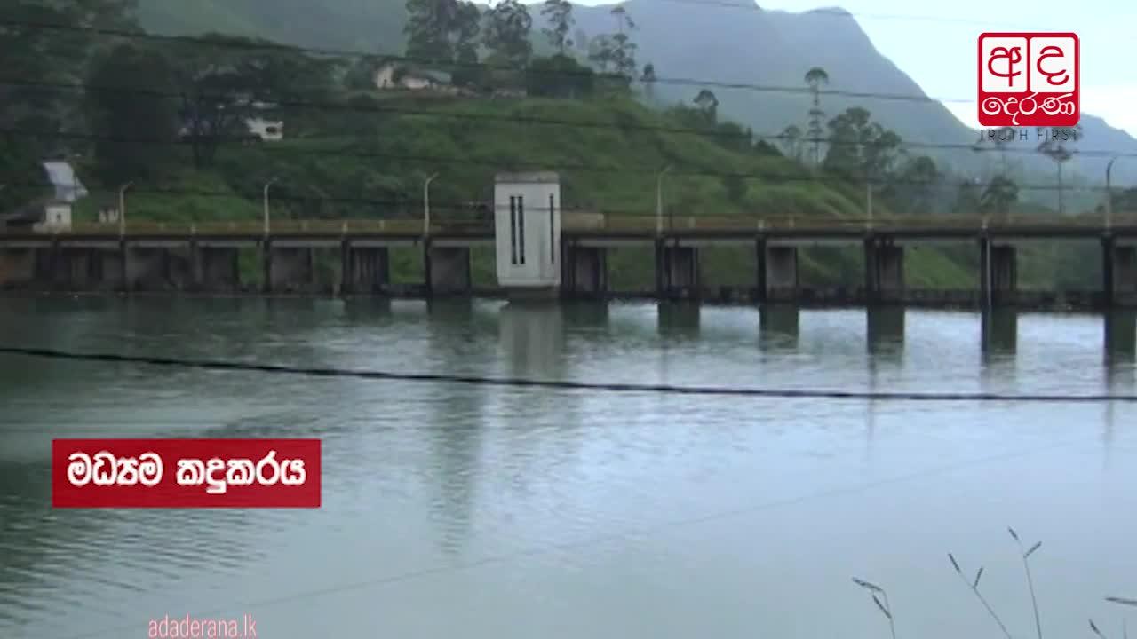 Castlereigh Reservoir reaches spill-level