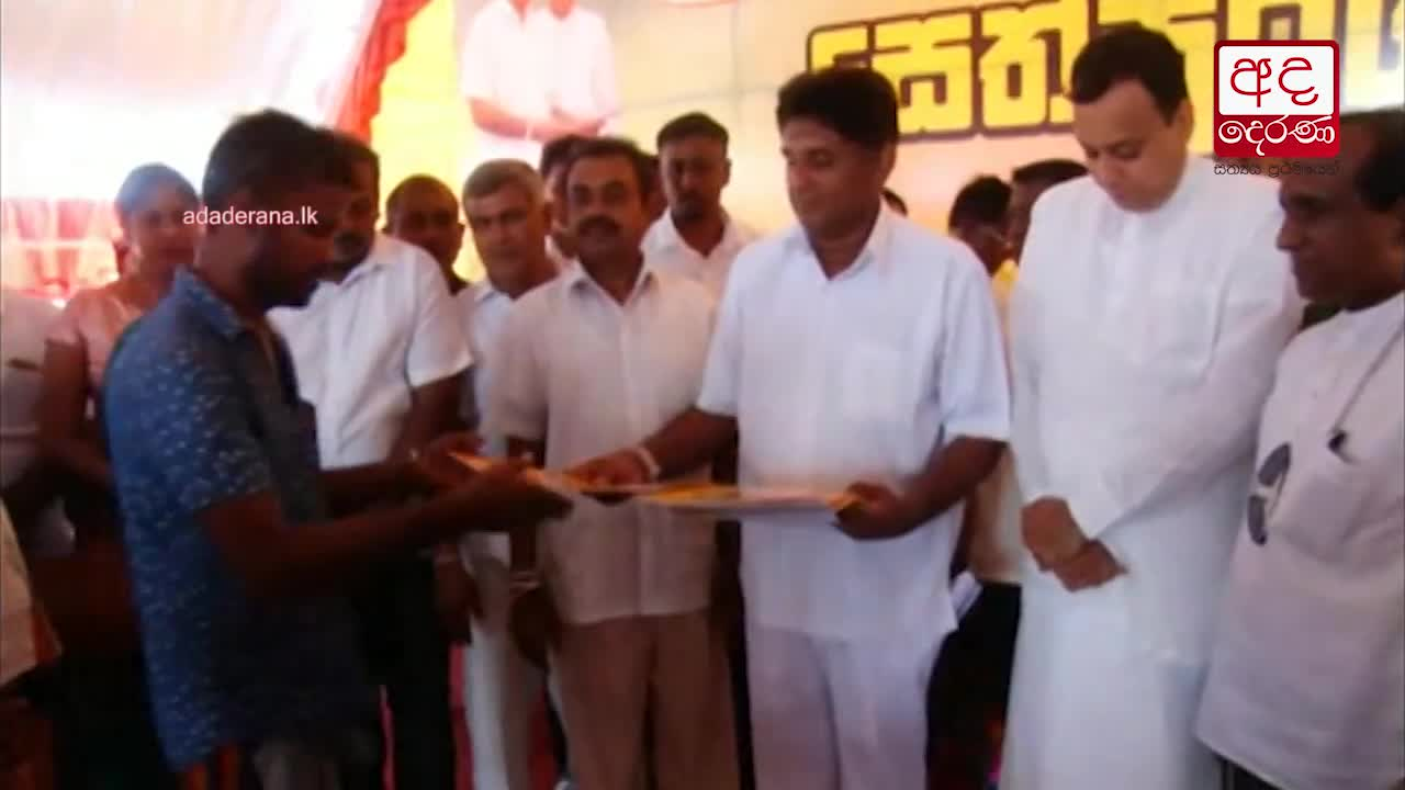 Sajith responds to Elections Commissioner