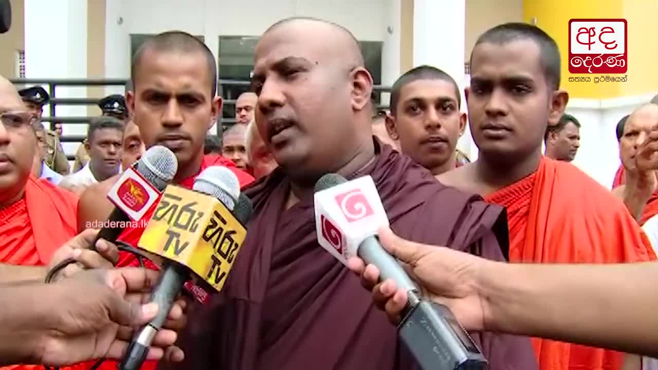 Hearing of Gnanasara Thero's appeal postponed to 22nd June