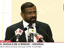Sri Lanka needs to be the bridge between China and India - former Navy Chief (English)