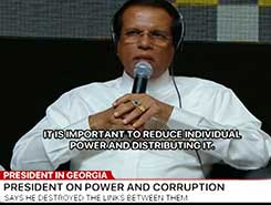 SL has taken steps to break link between power and corruption - President (English)