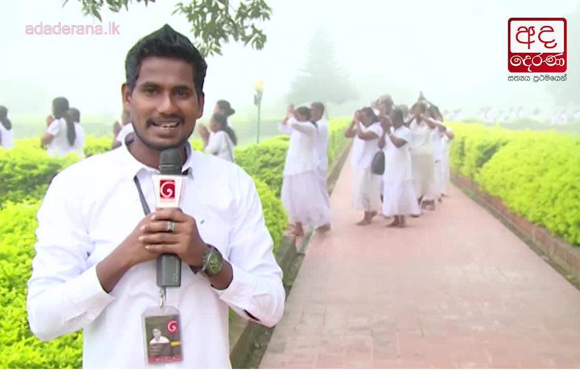 FM Derana 'Dambadiva Vandhana' worships Lumbini