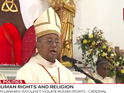 Western world&#39s latest religion is human rights - Cardinal Malcolm Ranjith (English)