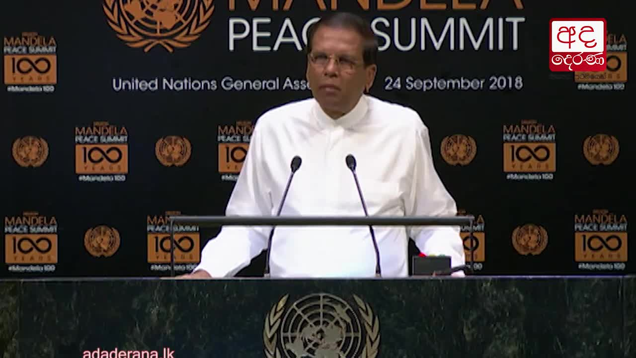 President addresses Nelson Mandela Peace Summit