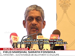 I was always on the IGP&#39s side - Sarath Fonseka (English)