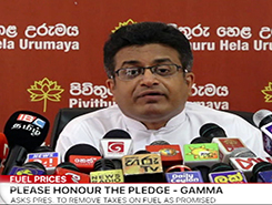 MP Welgama&#39s ideas are harmful for us - Gammanpila (English)