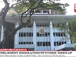 Objections filed against petitions on dissolution of parliament (English)