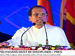 Development needs assistance from science, technology and research - President (English)