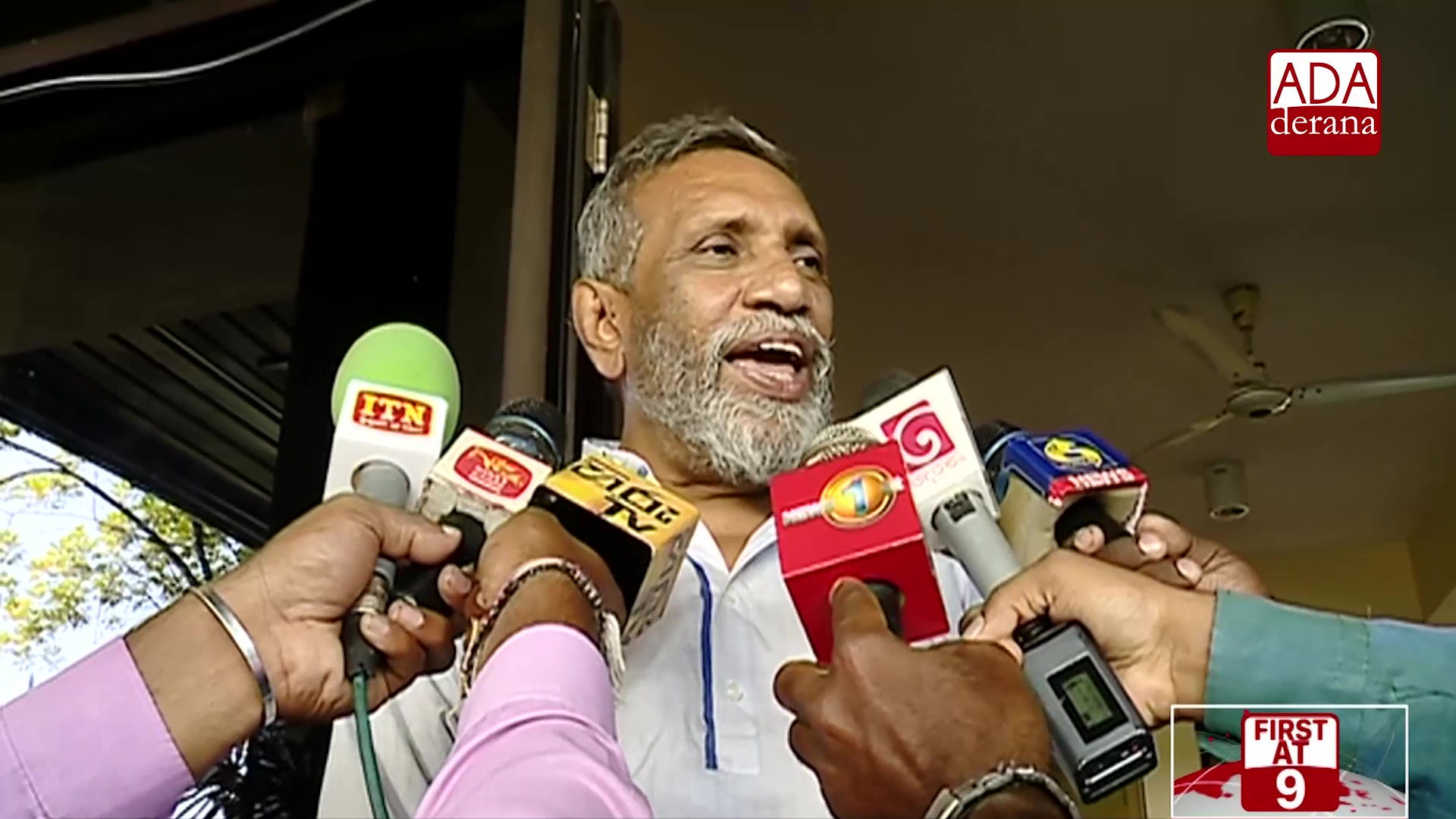 Mahinda Deshapriya regrets people not being able to cast their vote (English)