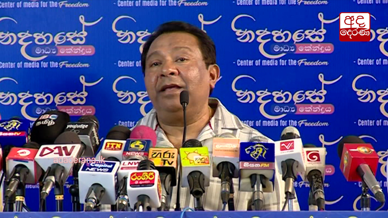 Our main task is to form an anti-UNP front - S.B. Dissanayake