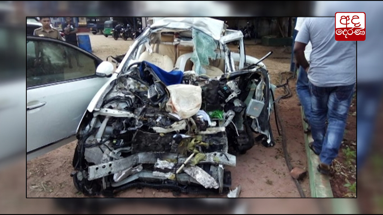 Six dead, 3 injured in Wennappuwa accident