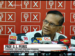 Will go to courts for provincial elections – G.L. Peiris (English)