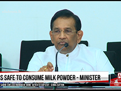 No truth in speculations on milk powder - Rajitha (English)