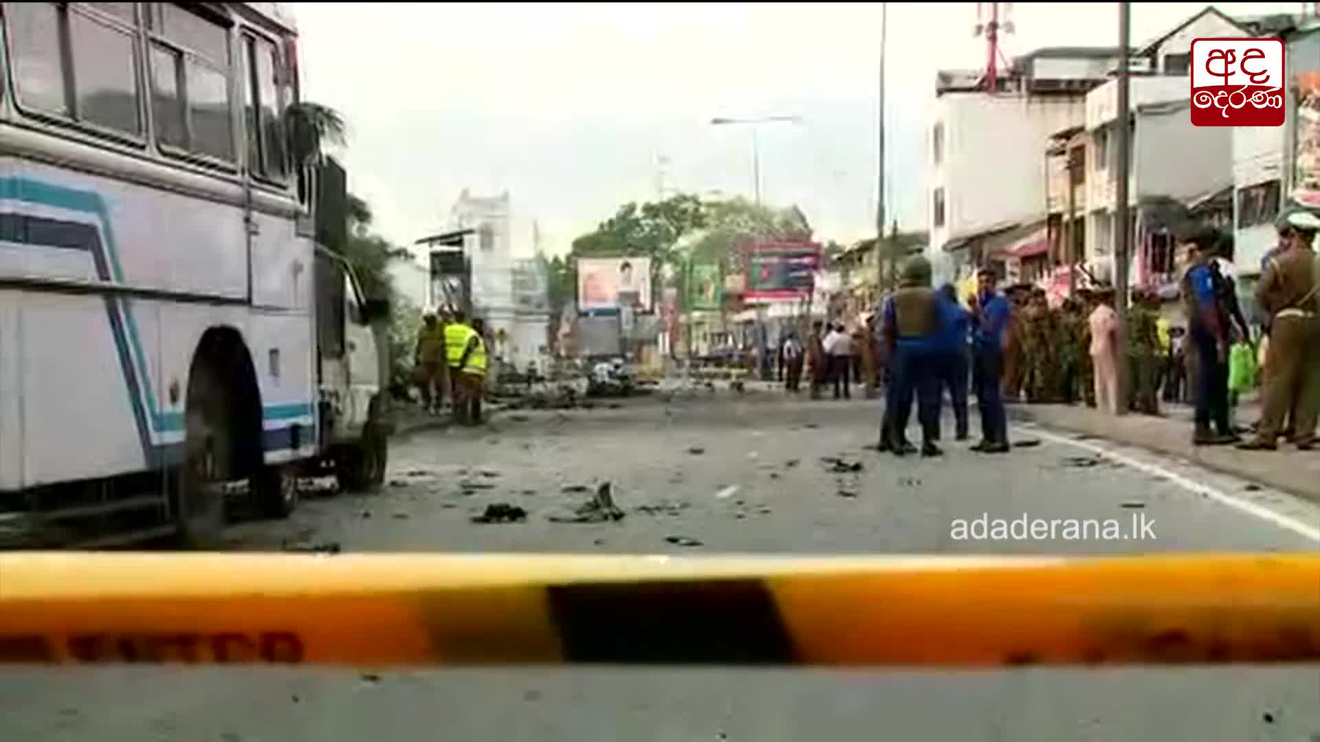Controlled explosion near Kochchikade Church