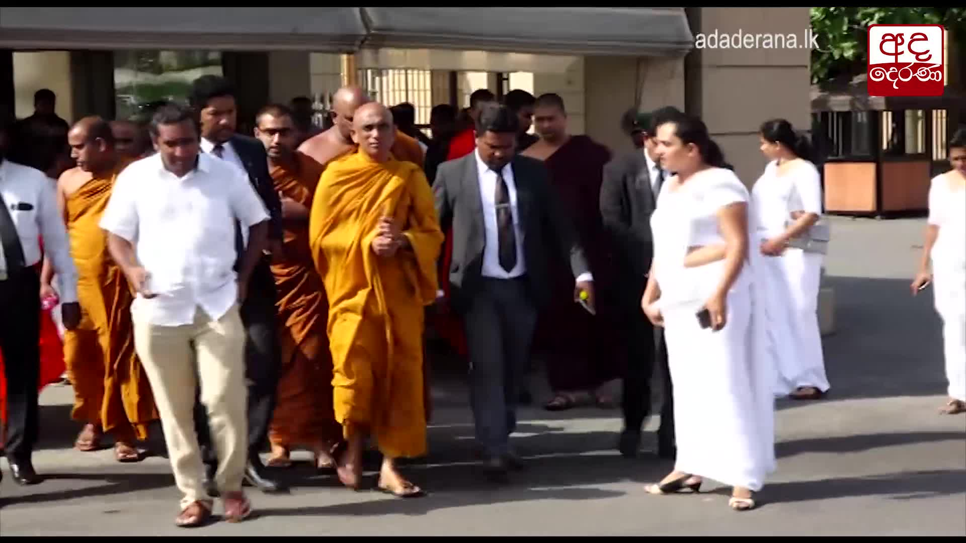 Rathana Thero visiting President obstructed