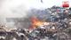 Fire at Madampitiya garbage dump