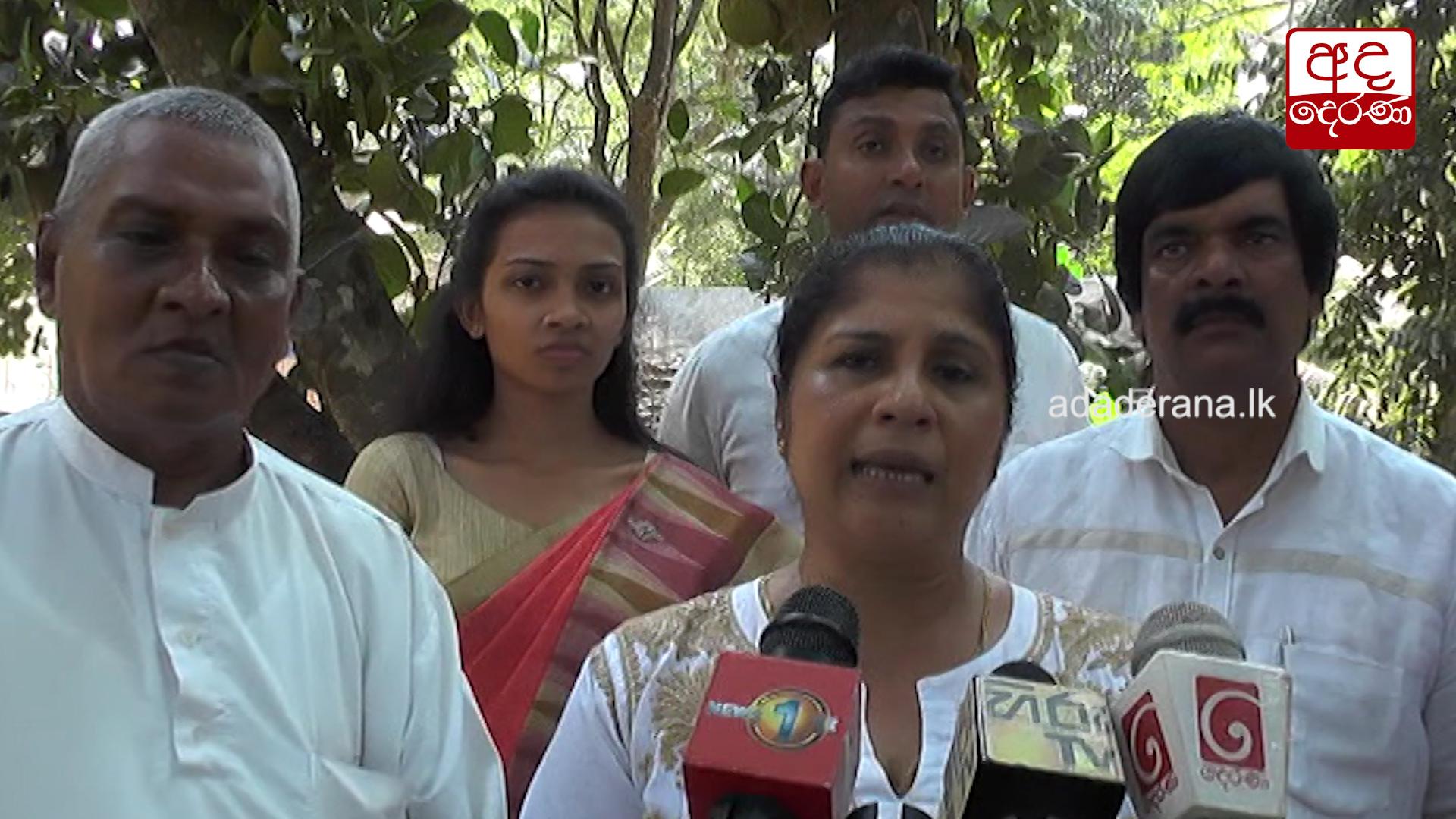 UNP-led alliance will contest under a common symbol – Chandrani